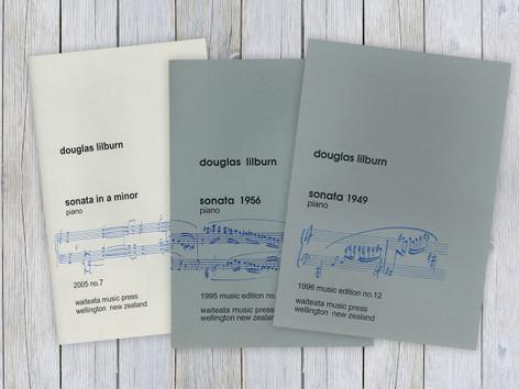 Three Piano Sonatas (bundle)