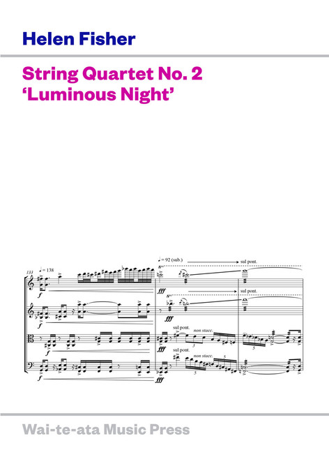 String Quartet No. 2 'Luminous Night'