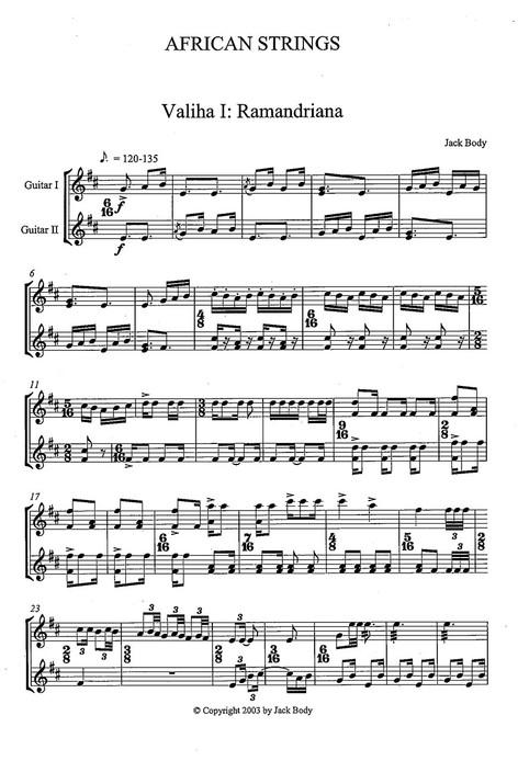 African Strings (PDF)