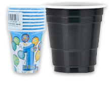 Wholesale Paper and Plastic Party Cups