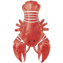 "XL 39"" Lobster Super Shape Mylar Foil Balloon Summer Seafood Party Decoration"