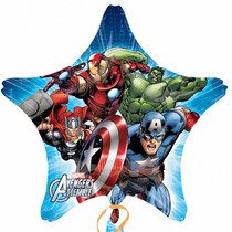 "XL 32"" Marvel Avengers Mylar Foil Balloon Superhero Team Party Event Decoration"