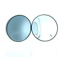 Stick-on Suction 10X Magnifying Mirror - 2 Pack