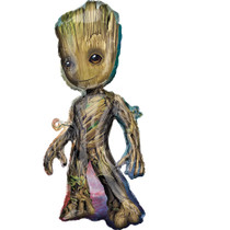 "XL 40"" Guardians of the Galaxy Vol. 2 Baby Groot Mylar Foil Super Hero Balloon"