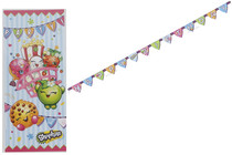 Shopkins Birthday Party Decorating Kit Tablecover Banner Poster Celebration Set