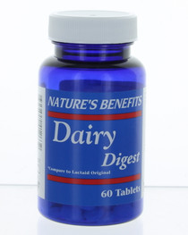 60 Tablets Dairy Digest Lactase Enzymes 3000 FCC Supplement Supports Digestion