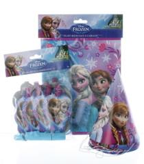 Disney Frozen 8 Kids Party Favor Kit Hats Blowouts Loot Bags Birthday Fun Set