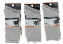 6  Pairs George Ladies Khaki Lycra Dress Socks Casual Women's Shoe Size 4-10
