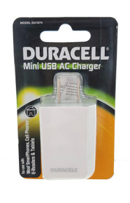 Duracell Mini USB Charging Set Car DU1619 and AC DU1674 Phone Tablets Chargers