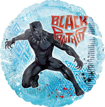 """Lot of 2 Marvel Black Panther 18"""" Mylar Foil Balloons Comic Party Decoration"""