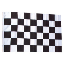 3' x 5' Black and White Checker Racing Flag NASCAR Banner Race Party Decoration