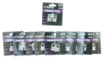 "20 Mini Metal Luggage Locks 1 & 1/4"" Key Locking Device Travel Suitcase Locker"