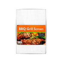 "17.25"" x 11.75"" BBQ Grill Screen Searing Outdoor Barbecue Grilling Grid Cooker"