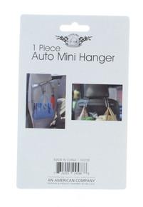 Lot of 4 Auto Hangers Mini Vehicle Storage Holder Car Truck SUV Headrest Hook