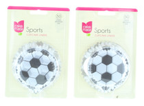 100 ct Soccer Cupcake Liners Football Party Supplies