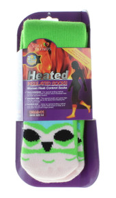 3 pairs heated insulated socks for women size 9-11 animal graphics sole trends