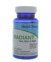 Herbal Therapy Radiant Healthy Hair Skin Nails 60 Tablets Dietary Supplement