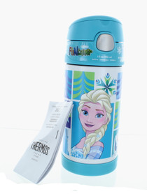 Thermos Disney Frozen Anna and Elsa Funtainner 12oz Insulated Bottle With Straw