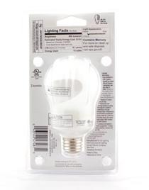 Lot of 2 Energy Smart General Purpose CFL Light Bulb 15 Watt 800 Lumens