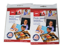 "Photo Savers  5"" x 7"" Laminating Pouches Lot of 10"