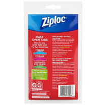 Lot of 20 Ziploc Quart Size Top Seal Bags On The Go TSA Compliant