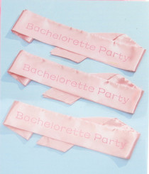 Bachelorette Party Sash Set Wilton Lot of 6