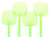Lot of 12 Fly Swatter Bug Swat Lightweight Strong Flexible Assorted Colors