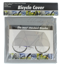 Lot of 2 Vinyl Bicycle Bike Covers Storage Protector Water resistant