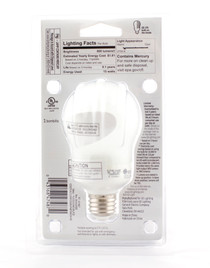 GE 15W Energy Smart General Purpose CFL Light Bulb 60W Replacement Lot of 4