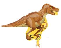 "XL 40"" Raptor Dinosaur Super Shape Mylar Foil Balloon Birthday Party Decorations"