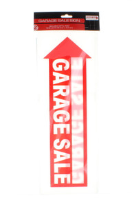 RPC Garage Sale Signs Double Sided Corrugated Plastic Lot of 4