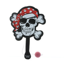 Pirate Paddle-ball Game Party Favors Lot of 12