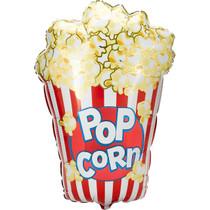 "XL 38"" Popcorn Mylar Foil Balloon Movie Night Circus Birthday Party Lot of 2"