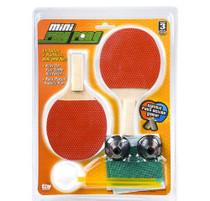 "Mini 6.25"" Ping Pong Set Table Top Tennis Game RINCO"