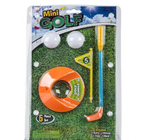 Table Top Mini Golf Game 5 Piece Set Ages 3+