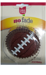 96 Count Football Cupcake Liners Football Party Supplies
