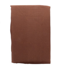 "Better Home Fabric Window Curtain 36"" x 54"" Brown With Tie Backs and Hooks"