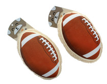 Lot of 2 Petzip Touchdown Football Dog Toy With Squeaker