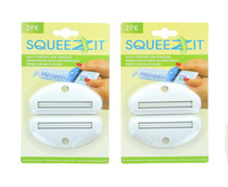 Lot of 4 Evriholder Squeezit Multi Purpose Tube Squeezer Reusable