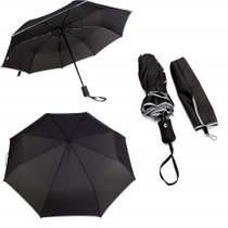 Rain Gear Premium Umbrella Push Button Reflective Wind Proof Folding Umbrella