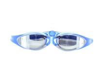 Olympic Nation Pro Swim Goggles Blue with Clear Vision UV Shield Anti-Fog