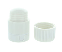 Lot of 2 Pill Box 4 in 1 Pill Crusher Container Splitter and Cup