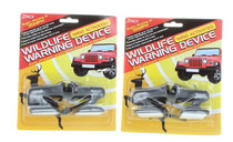 4 Pair Deer Whistle Wildlife Warning Device Animal Alerts Car Safety Accessory
