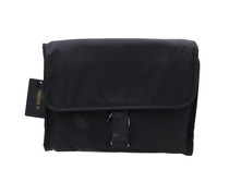 Forever21 Hanging Foldable Black Travel Toiletry Bag Cosmetic Organizer Compact