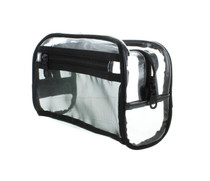 Clear Portable Cosmetic Bag Travel TSA Friendly Toiletry Dopp