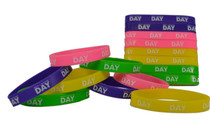 16 Vacation Bible Sunday School Have A Blessed Day Religious Wristband (2packs)