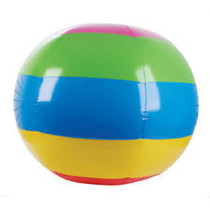 "Giant 48"" Multi Color Beach Ball Pool Toy Luau Party Game Fun Monster Size"