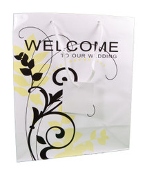 Lot of 12 Welcome To Our Wedding Gift Bags Guest Favors Bridal Party 3/3808