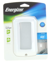 Energizer LED Decor' Night Light On At Dusk Off At Dawn Soft White