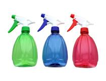 Lot of 3 Spray Bottles 15 oz. Trigger Sprayer Pear Shaped Spray Bottles